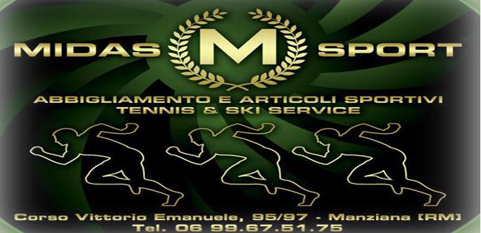 Midas Sport Corso Vittorio Emanuele, 9597 Manziana (Rm